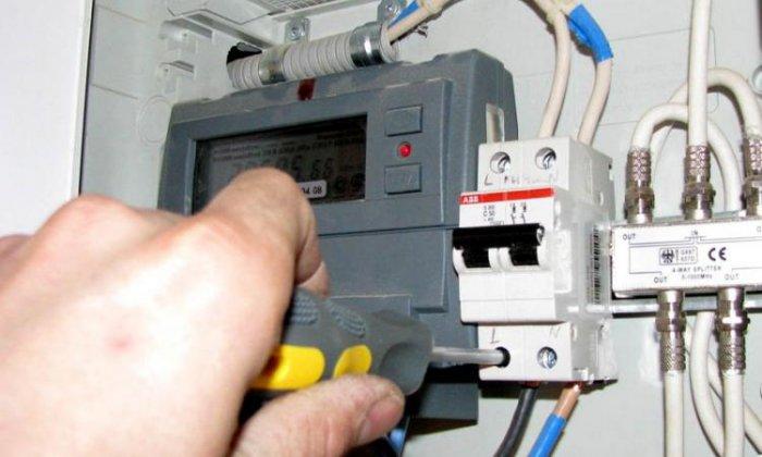 Незаконное подключение электроэнергии соседей
