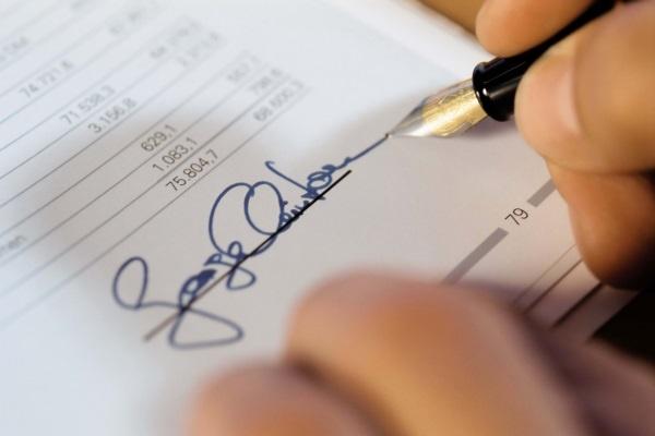Ответственность за фальсификацию подписи
